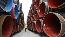 Трубы для газопровода Северный поток-2. Архивное фото