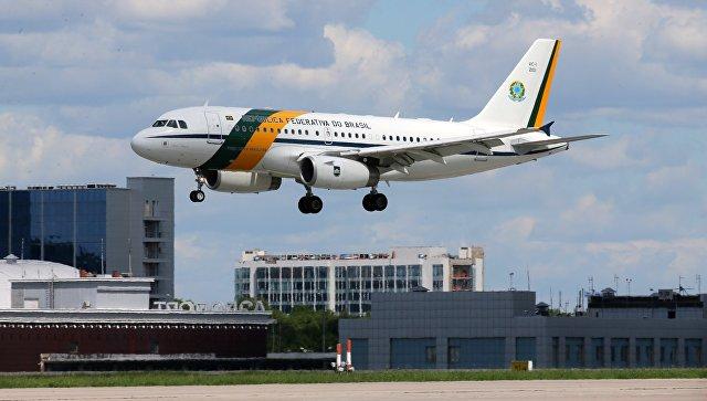 Президент Бразилии Мишел Темер прибыл в Российскую Федерацию поприглашению В.Путина
