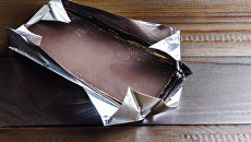 Плитка шоколада. Архивное фото