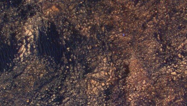 Зонд MRO зафиксировал ровер Curiosity навершине горы Шарп