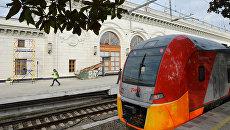 Железнодорожный вокзал в Сочи. Архивное фото