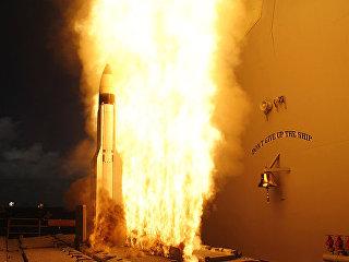 Американская ракета-перехватчик SM-3