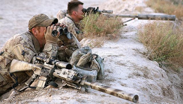 Канадские снайперы. Архивное фото