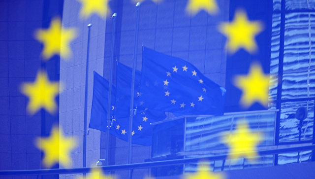 Флаги ЕС. Архивное фото