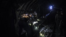 В шахте. Архивное фото
