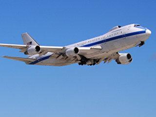 Самолет E4-B Boeing 747s. Архивное фото