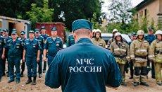 Сотрудники МЧС. Архивное фото