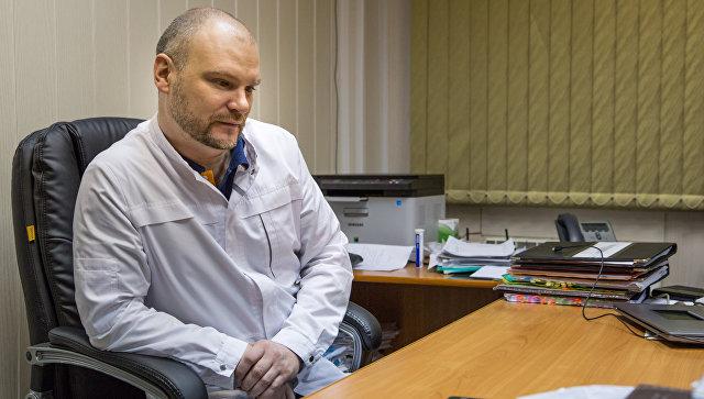 Главный врач Апатитско-Кировской ЦГБ Юрий Ширяев. Архивное фото