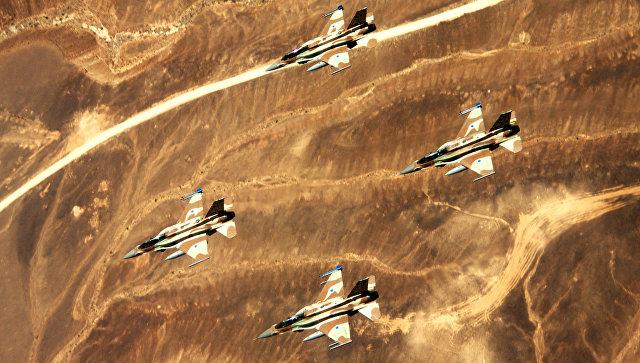 Звено истребителей F-16l Sufa ВВС Израиля. Архивное фото