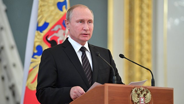 Путин обвинил иностранные спецслужбы в попытке повлиять на Россию