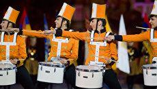 Коллектив из Армении на фестивале Спасская башня