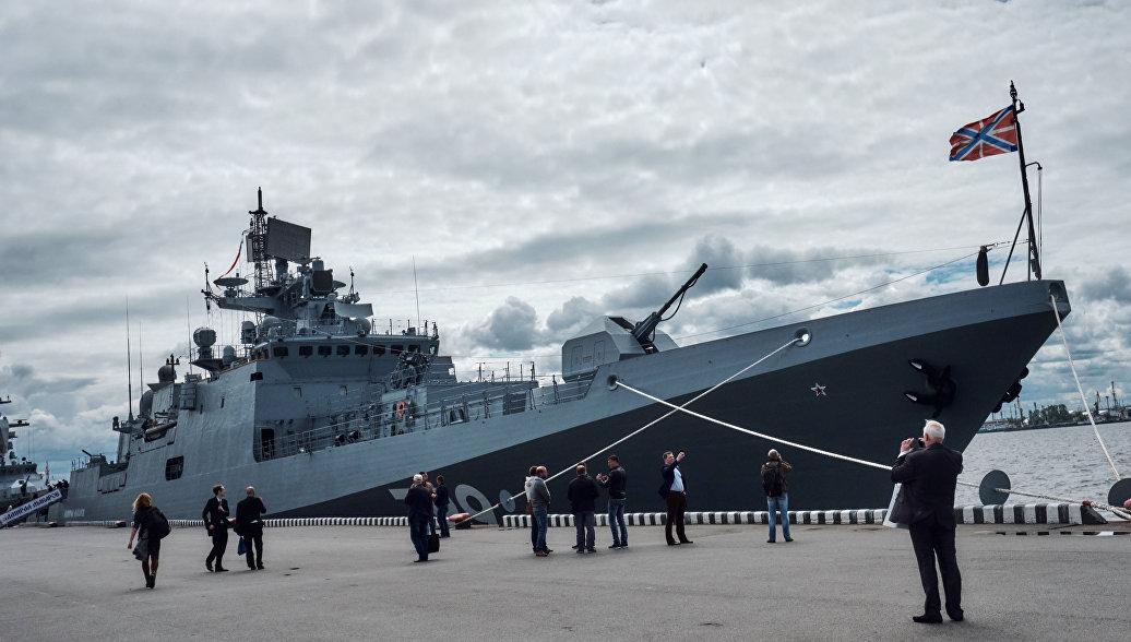 Минобороны передан новый сторожевой корабль «Адмирал Макаров»