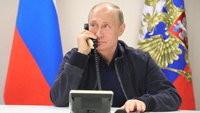 Песков: все телефонные контакты Путина и Трампа отражены в пресс-релизах