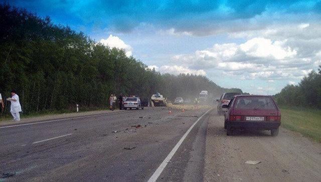 В ужасной трагедии под Омском погибли пятеро человек