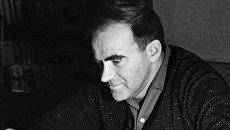 Российский писатель Даниил Александрович Гранин. Москва, 1956 год