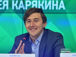 Гроссмейстер Сергей Карякин. Архивное фото