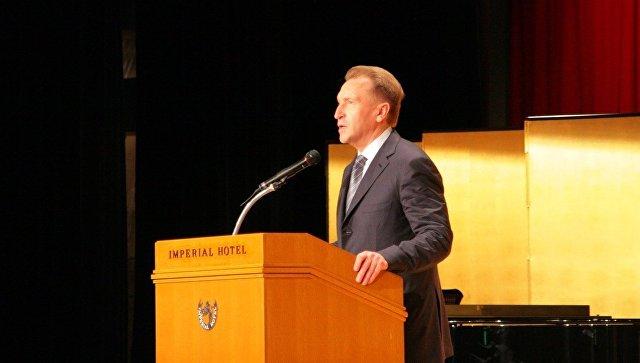 Игорь Шувалов на фестивале российской культуры в Японии