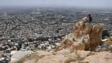 Вид на Дамаск с горы Касьюн. Архивное фото