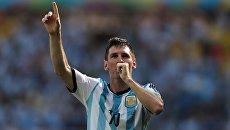 Игрок сборной Аргентины Лионель Месси. Архивное фото