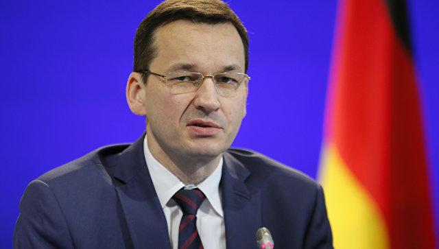 Вице-премьер Польши Матеуш Моравецкий. Архивное фото