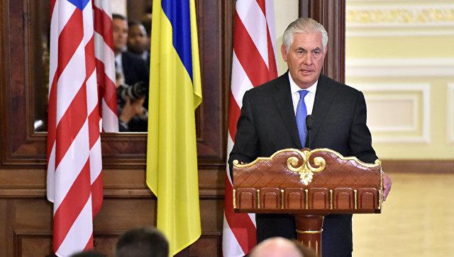 Госсекретарь США Рекс Тиллерсон назначен куратором антироссийских санкций