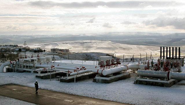 Газораспределительная станция в 35 км к западу от Анкары, Турция. Архивное фото