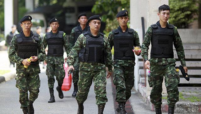Солдаты в Таиланде. Архивное фото