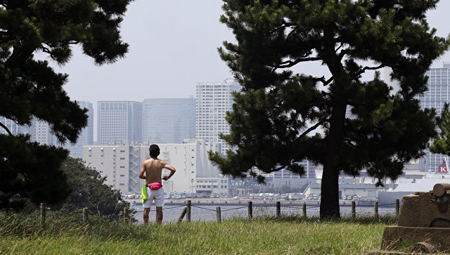 Жара в Японии. Архивное фото