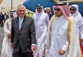 Госсекретарь США Рекс Тиллерсон в Дохе