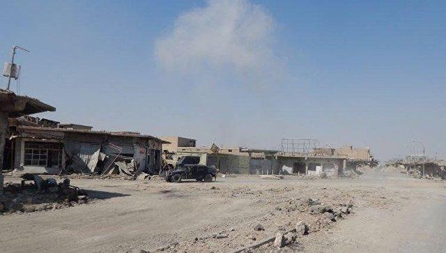 Западный Мосул, в нескольких километрах от старого города. Архивное фото.