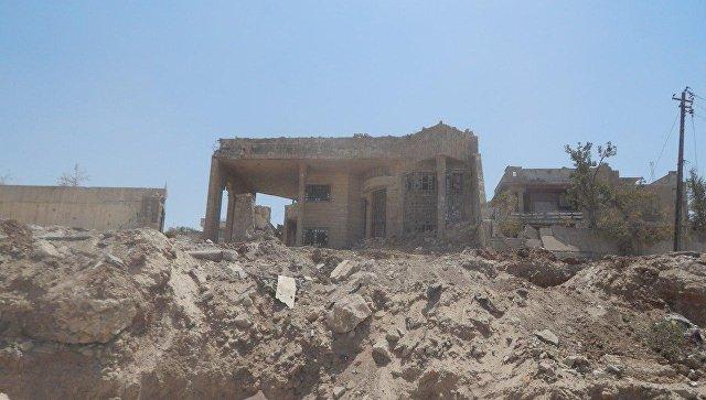 Одно из зданий ИГ* (группировка Исламское государство*, запрещена в РФ). Архивное фото