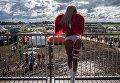 Девушка на музыкальном фестивале Alfa Future People в Нижегородской области