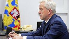 Губернатор Белгородской области Евгений Савченко. 14 июля 2017