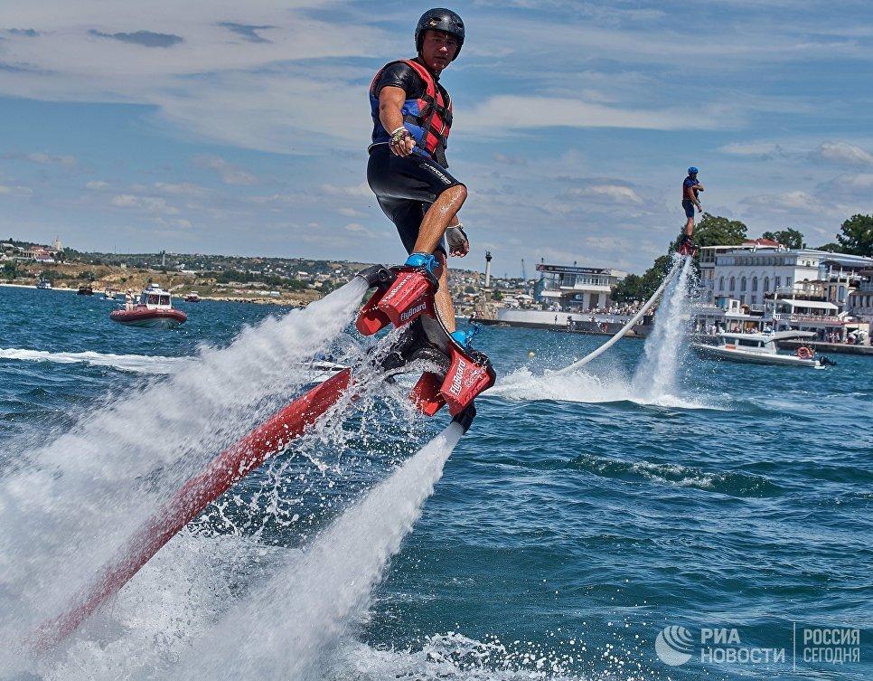 Международный фестиваль водных экстремальных видов спорта X Fest в Севастополе. 15 июля 2017