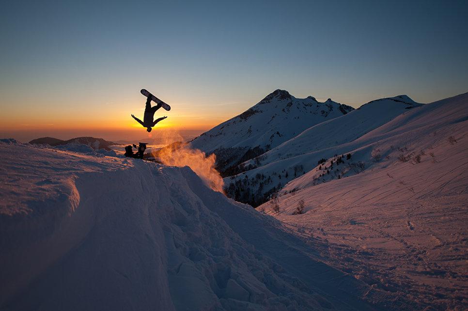Работа фотографа Никиты Клюквина Полёт наяву, занявшая первое место в категории Движение. Любители на ежегодном фотоконкурсе компании Nikon Я | В СЕРДЦЕ ИЗОБРАЖЕНИЯ