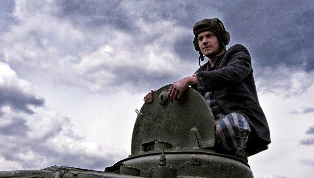 Кадр со съемочной площадки фильма Алексея Сидорова Т-34