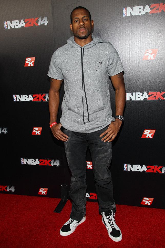 Американский баскетболист Андре Игодала