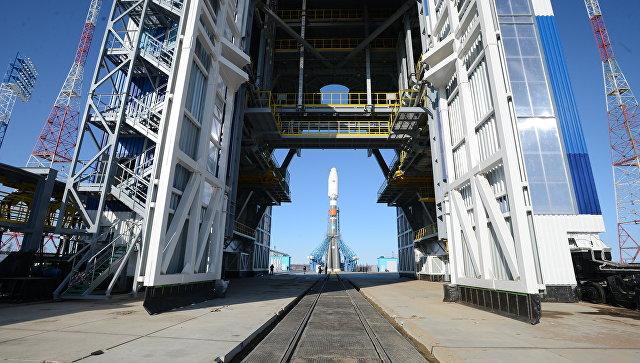 Одна из ракет серии Союз РКЦ Прогресс во время испытания на космодроме Восточный в Амурской области. Архивное фото