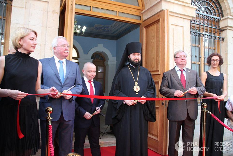 Церемония открытия Сергиевского подворья в Иерусалиме