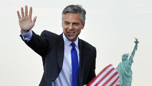 Кандидат в президенты США от республиканцев экс-губернатор штата Юта Джон Хантсман. 21 июня 2011