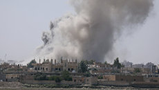 Дым над Раккой. 7 июня 2017