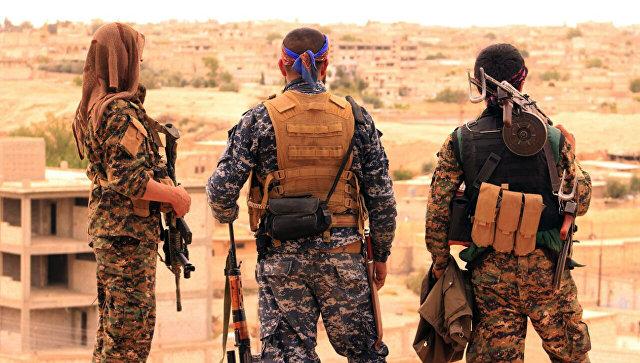 Бойцы СДС, Сирия. Архивное фото