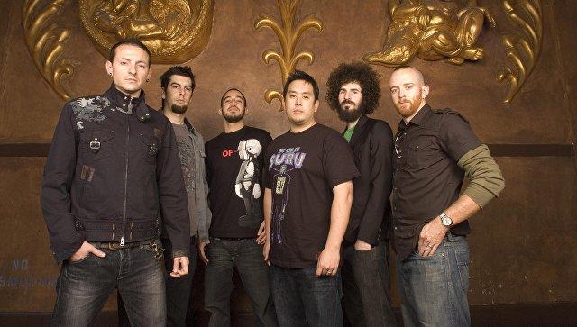 Участники американской группы Linkin Park. Архивное фото