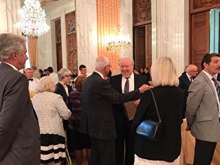 Накануне возвращения Посла Сергея Кисляка в Россию в дипмиссии России в США прошёл прощальный приём для коллег и друзей. 21 июля 2017