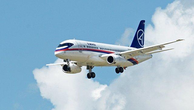 Производитель опроверг проблемы с безопасностью у Sukhoi Superjet