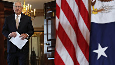 Госсекретарь Рекс Тиллерсон в Государственном департаменте США в Вашингтоне. Архивное фото