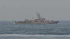 Американский военный корабль в Персидском заливе. Архивное фото