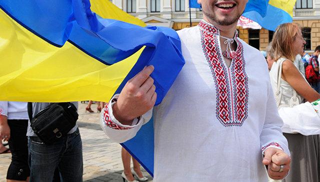 Парад украинских вышиванок. Архивное фото