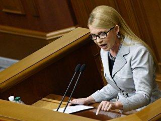 Лидер всеукраинского объединения Батькивщина Юлия Тимошенко. Архивное фото