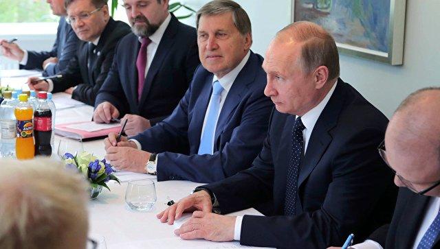 Путин планирует подробно обсудить с президентом Финляндии ситуацию в Сирии
